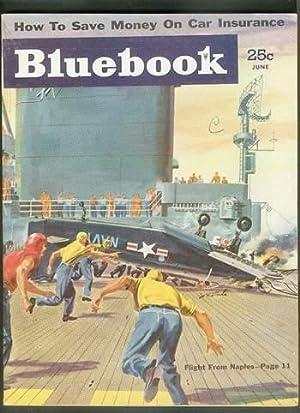 BLUE BOOK June 1954 (Bluebook Pulp Magazine): Tom Ferris; Victor