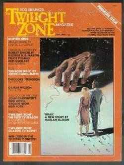 Rod Serling's TWILIGHT ZONE- Magazine ( Volume: KING, STEPHEN. -Gahan