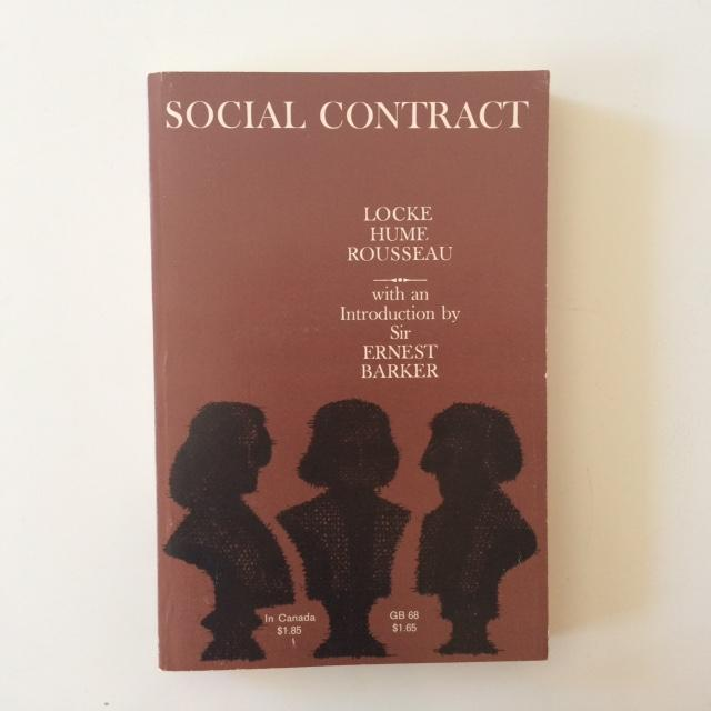 book by contract essay galaxy hume locke rousseau social The faces of reason: an essay on social contract: essays by locke, hume, and rousseau (a galaxy book), 1962 barrio-garay.
