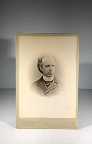 Sir Wilfrid Laurier. Cabinet Photograph