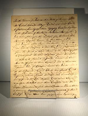 Agreement between Gen. Christie and Captain Grant appointing Mr Grisé surveyor for tuning the lin...