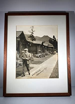 Mackenzie King. Black and white photograph. Signed