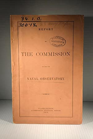 Report of the Commission on site for Naval Observatory