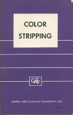 Color Stripping for Offset Lithography: Halpern, Bernard R.