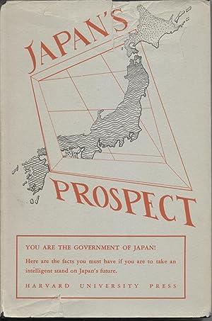 Japan's Prospect: Haring, Douglas G., Editor