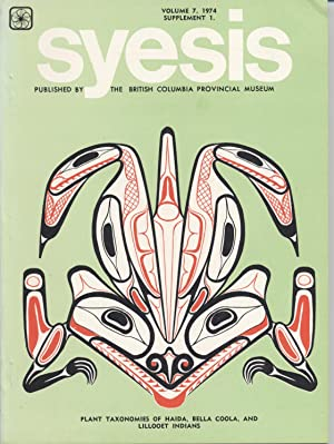 Syesis, Volume 7, 1974 Supplement 1