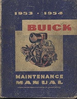 1953-1954 Buick Maintenance Manual: General Motors