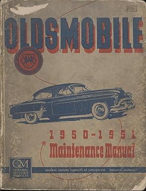 1950-51 Oldsmobile Maintenance Manual: General Motors