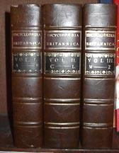 Encyclopaedia Britannica - In Three Volumes, Facsimile of the 1771 Edition
