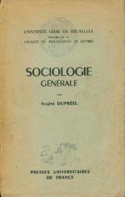 Sociologie Generale: DuPreel, Eugene