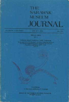 Sarawak Museum Journal, The-Vol. XXX No.51