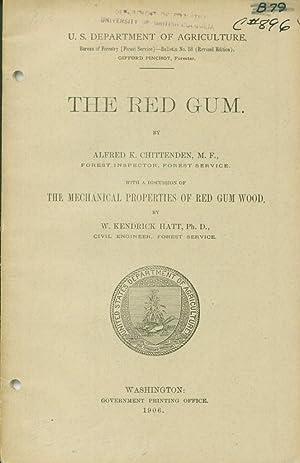 Red Gum, The: Chittenden, Alfred K.
