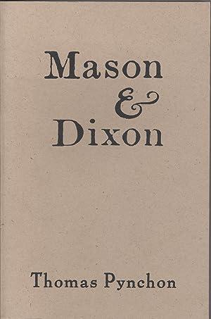 Mason & Dixon: Pynchon, Thomas