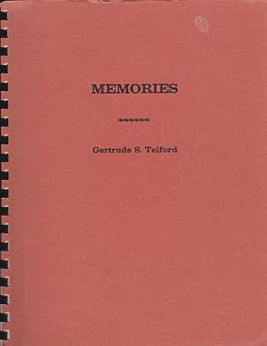 Memories: Telford, Gertrude S.