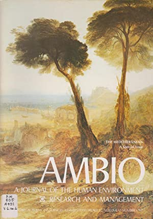 Ambio: A Journal of the Human Environment Research and Management, Volume VI Number 6 1977