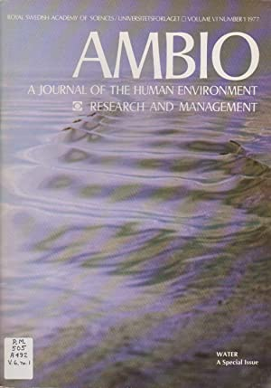 Ambio: A Journal of the Human Environment Research and Management, Volume VI Number 1 1977