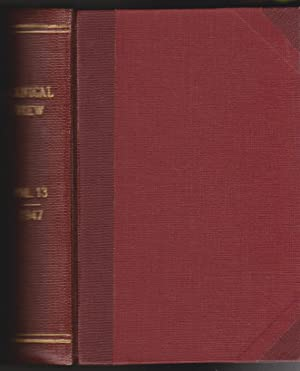 Botanical Review: Interpreting Botanical Progress - Volume XIII, 1947