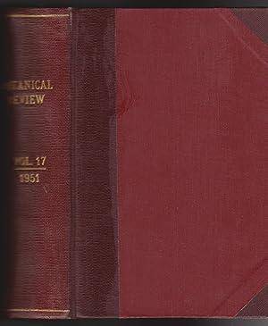 Botanical Review: Interpreting Botanical Progress - Volume XVII, 1951: Fullling, E.H. et al, ...