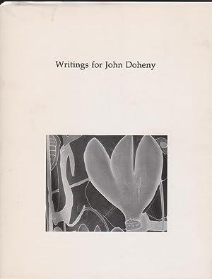 Writings for John Doheny