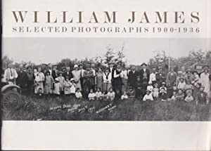 William James, Selected Photographs 1900-1936