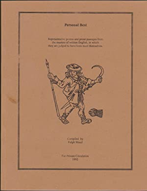 Personal Best: Representative Poems and Prose Passages: Maud, Ralph, Editor