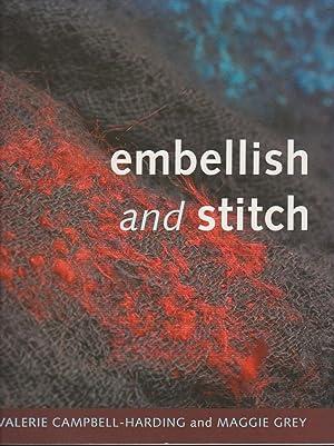 Embellish and Stitch: Campbell-Harding, Valerie &
