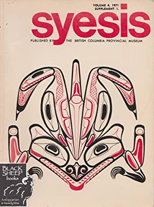 Syesis, Volume 4, 1971, Supplement 1