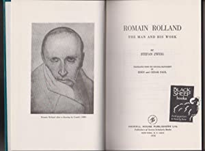 Romain Rolland: The Man and His Work: Zweig, Stefan