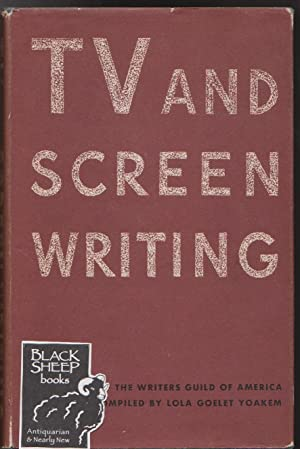 TV and Screen Writing