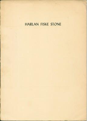 In Memory of Harlan Fiske Stone: NA
