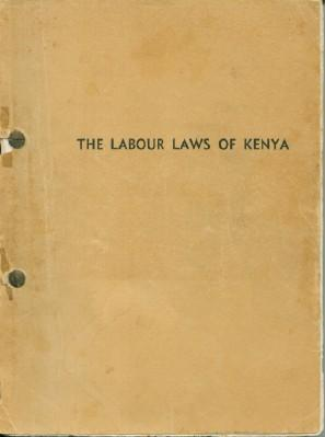 Labour Laws of Kenya, The