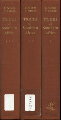 Trees of Southern Africa: Covering All Known Indigenous Species on the Republic of South Africa, ...