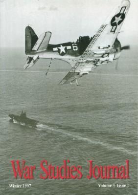 War Studies Journal, Winter 1997, Volume 3, Issue 1: Foley, Robert T. And Jon Robb-Webb, Eds.