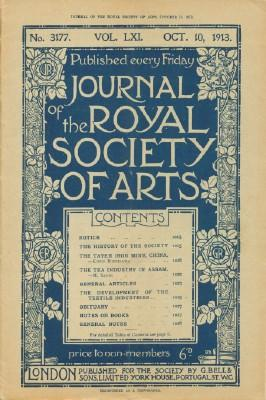 Journal of the Royal Society of Arts,: N.A.