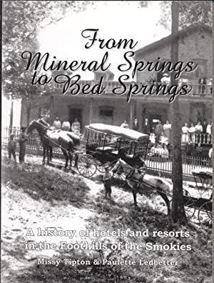 From Mineral Springs to Bed Springs: A History of Hotels and Resorts in the Foothills of the Smokies
