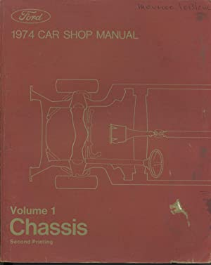 Ford 1974 Car Shop Manual - 5 Volumes: Ford Marketing Corporation