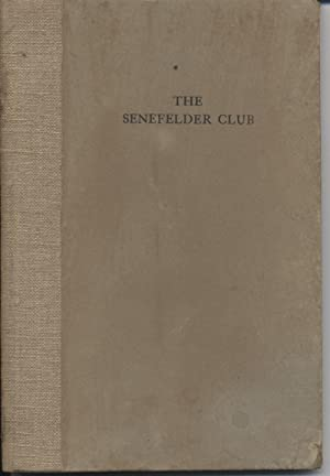 Senefelder Club, The: Dodgson, Campbell; Pennell,