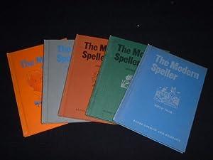THE MODERN SPELLER - BOOKS I-V -: Stigler, W. A.