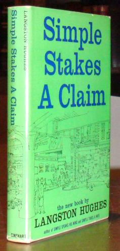 Simple Stakes a Claim.: HUGHES, LANGSTON.