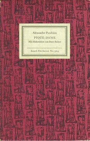 Pique Dame, mit Holzstichen von Imre Reiner.: Puschkin, Alexander