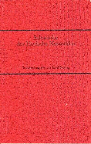 Schwänke des Hodschas Nasreddin. Mit zwanzig Illustrationen von Wilfried Blecher.: Unb.