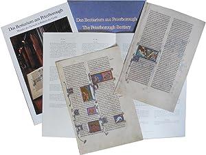 Das Bestiarium aus Peterborough. Wunder der Tierwelt in Bildern der Gotik: Urs Düggelin (Hsg.)