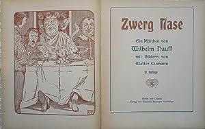 Zwerg Nase. Ein Märchen mit Bildern von Walter Tiemann: Hauff, Wilhelm