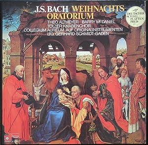 J.S.Bach Weihnachts-Oratorium / Oratorium Tempore Nativitatis Christi BWV 248. Knabensolisten, Theo...
