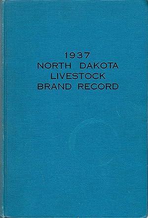 1937 North Dakota Livestock Brand Record: Johnston, Andrew