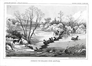 Crossing The Hellgate River, Jan. 6th, 1854