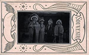 Souvenir Antique Photograph from San Gabriel Mission, California