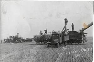 Threshing Outfit Photograph - 1929