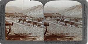 Fort Yellowstone among the Mountains: Stereoscopic View Photograph