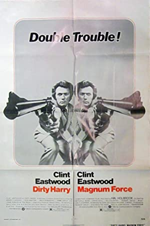 Dirty Harry/ Magnum Force - Original One Sheet Double Feature Movie Poster (1975)